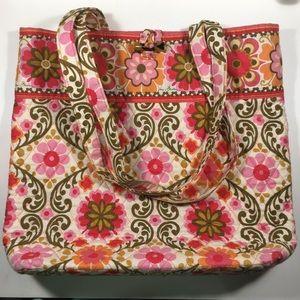"""Vera Bradley Tote Bag in """"Folkloric"""""""
